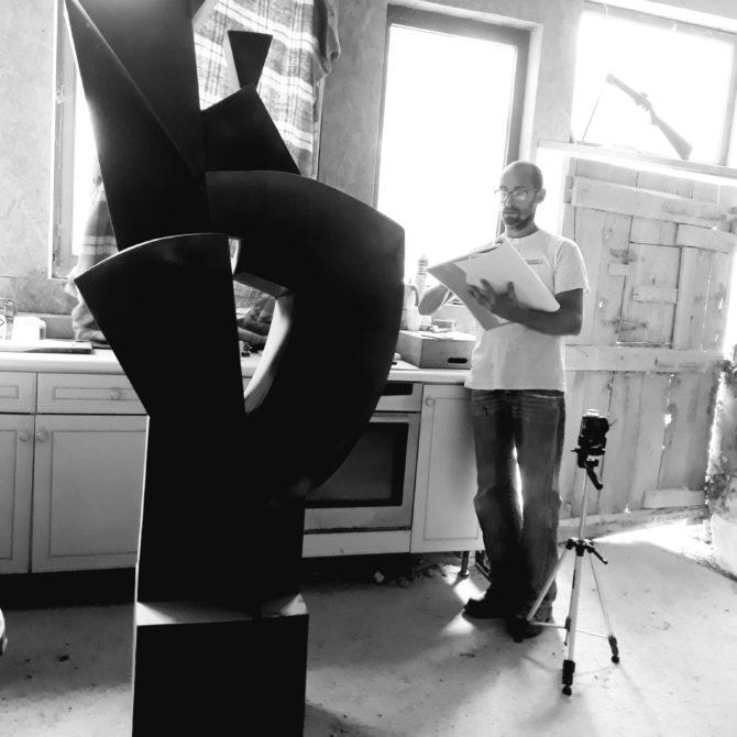 sculpture en Granite Bretagne Lucien Mazé Taille de pierre