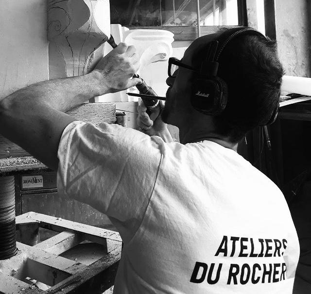 Lucien Mazé Tailleur de pierre graveur sculpteur bretagne