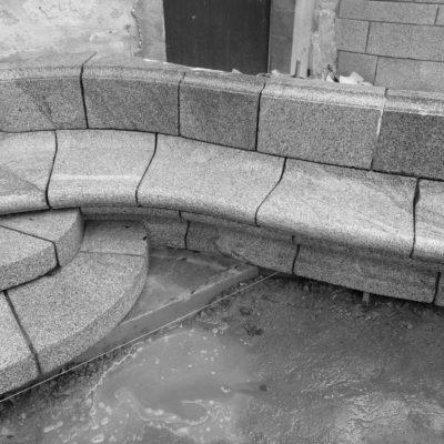 Taille de Pierre Bretagne Banc granite Lucien Mazé