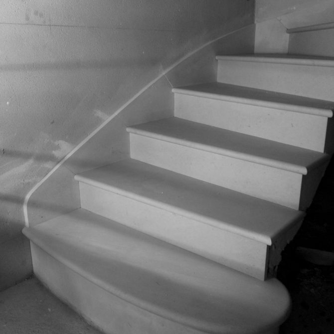 Lucien Mazé- escalier en voute sarrasine